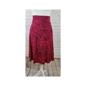 Loft A Line Elastic Skirt XL